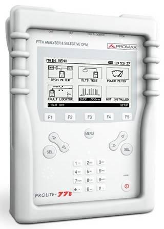 analizador-ftth-selectivo-prolite-77b-de-promax