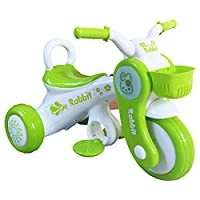 YINGH Motorbike Kids Ride On Motorcycle Toy 3 Wheels Electric Car Bike 6V4.5A, Suitable for 1-5 years old baby