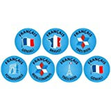 French Tres Bien Stickers