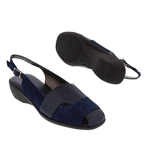 Aerosoles Sandale Dunkelblau