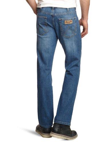 Wrangler Herren Jeans Arizona Stretch Worn Broke Blau (Worn Broke 37X)