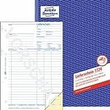 5 x Avery Zweckform Formularbuch Lieferschein A4 selbstdurchschreibend 2x40 Blatt