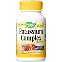 Potassium Chelate, 99 mg, 100 Capsules - Nature's Way
