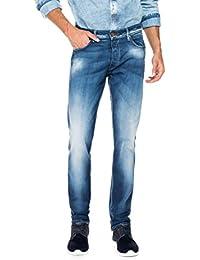 Salsa - Jeans Lima délavage bleu intense - Homme