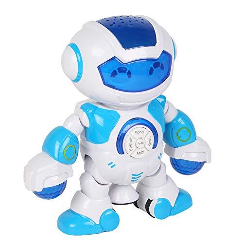 cher Tanzroboter 360 Grad drehbares Musikprojektor-Bildungs-Spielzeug-Neuheits-lustiges Spielzeug Random Color ()