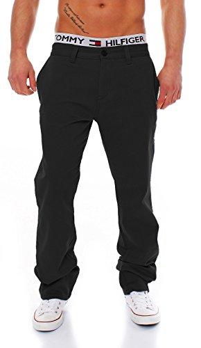 Big Seven Evan Chino Pant Regular Fit Herren Hose, Hosengröße:W42/L32, Farbe:Black