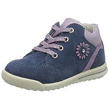 Superfit Girls' Avrile Mini Sneaker, Blue Blue Purple 80, 7 UK