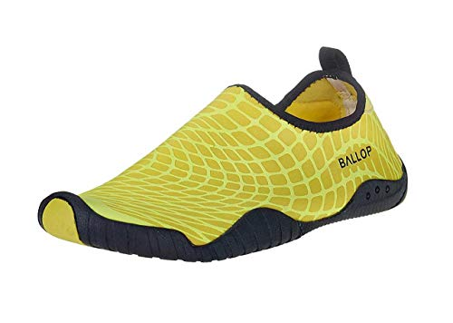 Ballop Schuhe Spider Yellow, V2-Sohle