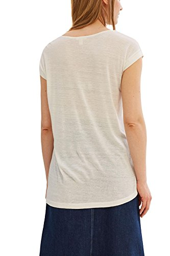 ESPRIT Damen T-Shirt Weiß (Off White 110)