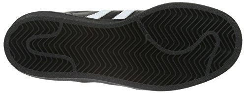adidas Superstar Foundation, Unisex-Kinder Sneakers Schwarz (Core Black/Ftwr White/Core Black)