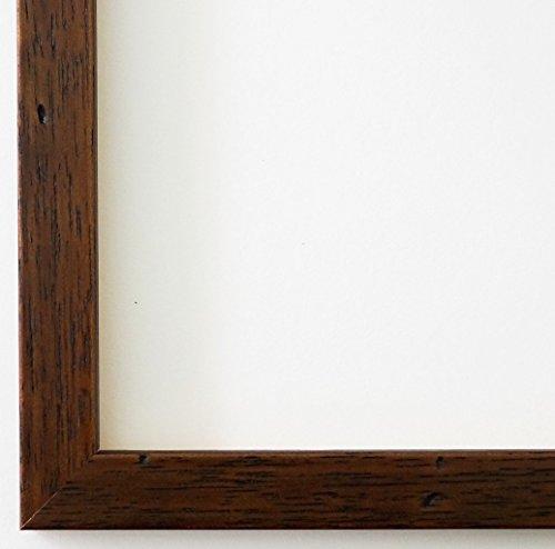 Bilderrahmen Neapel Braun 2,0 - DIN A2 (42,0 x 59,4 cm) - WRF - 500 Varianten - alle Größen -...
