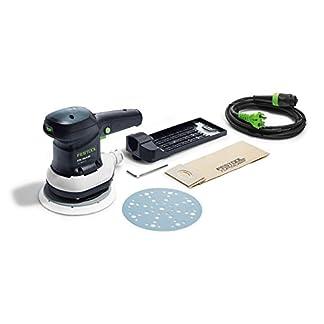 Lijadora excéntrica Festool ETS150/3EQ 310 W. 575023, negro/verde.