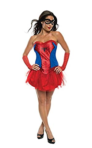 Marvel Spider Girl (Tutu) - Adult Licensed Costume Lady: XS (UK: 6-8) (Spider Woman Kostüm Uk)