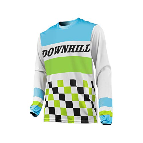 Uglyfrog Radfahren Trikot Männer Winter Moto-Cross Jersey - MTB - Offroad - Trikot - Racing Shirt Downhill Fahrrad Trikots & Shirts+Hohe Qualität Vlies Futter