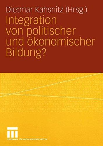 Integration von politischer und Ökonomischer Bildung?