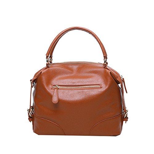 Yy.f Neue Art Und Weise Retro-Mode-Handtaschen Kissen Frau Tragbar Schulterkurierbeutel Handtasche Multicolor Blue
