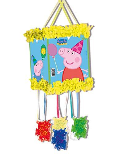 Generique - Peppa Wutz-Piñata bunt 20x30cm