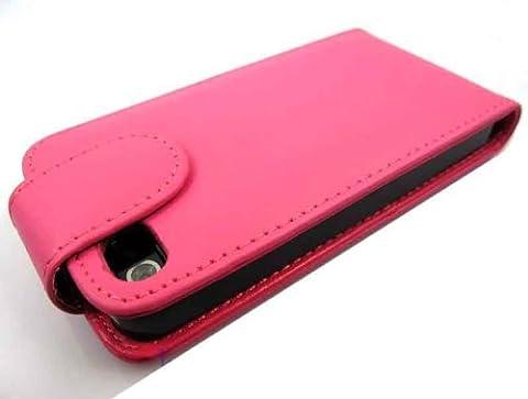 Neue Qualität Apple iPhone 4 4S Pink Flip PU-Leder-Kasten-Abdeckung für Apple iPhone 4 4S