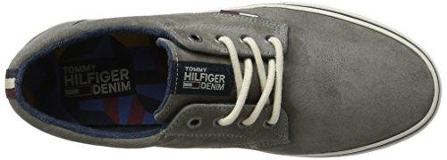 Tommy Jeans Herren V2385ic 1b Sneaker Grau (città Grigio)