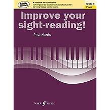 Improve Your Sight-Reading! Trinity Piano: Grade 4 (Faber Edition: Improve Your Sight-Reading) by Paul Harris (2014-02-01)