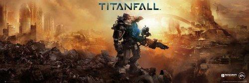 Empire Merchandising 648.570 Titanfall Games Copertina Porta formato poster di 158 x 53 cm