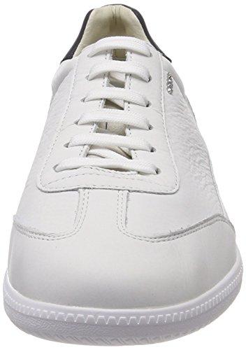 Geox Herren U Keilan B Sneaker Weiß (bianco)