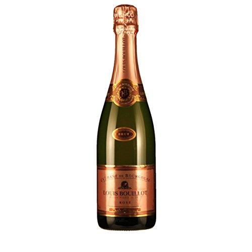 """Louis Bouillot Crémant de Bourgogne Brut Rose \""""Perle d\'Aurore\"""" 0.75 Liter"""