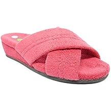 Chaussons D'âne Blanc / Pantoufles Serviette / Chaussures De Douche Pour Homme Éponge Lisse 100% Coton Taille De 46, Gris Clair