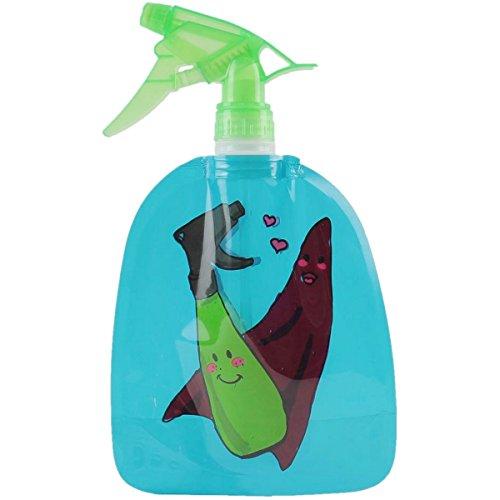 Promobo - Vaporisateur Spray Souple Smiley Picto Chiffon Ménage Bleu 550ml