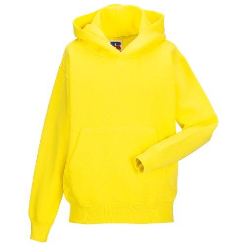 Jerzees Schoolgear Pullover mit Kapuze für Kinder (9-10 Jahre) (Gelb) - Jerzees Sweatshirt Winter