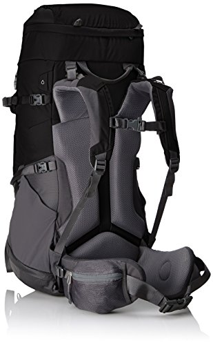 The North Face Erwachsene Rucksack Terra 50 Tnf Black/Asphalt Grey