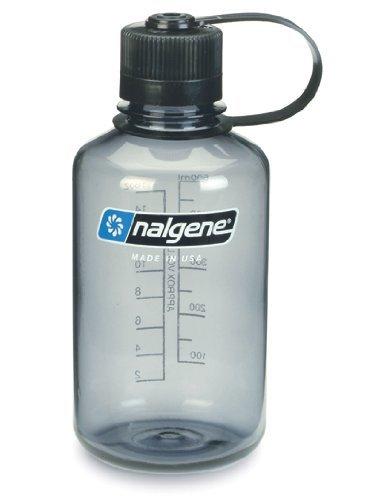 Nalgene Narrow Mouth Tritan Bottle, Grey, 1L by Nalgene -