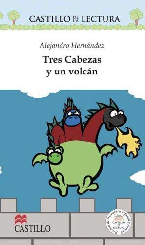Tres Cabezas Y Un Volcan/Three heads and a Volcano (Castillo De La Lectura Blanca/White Reading Castle) por Bernardo Fernandez