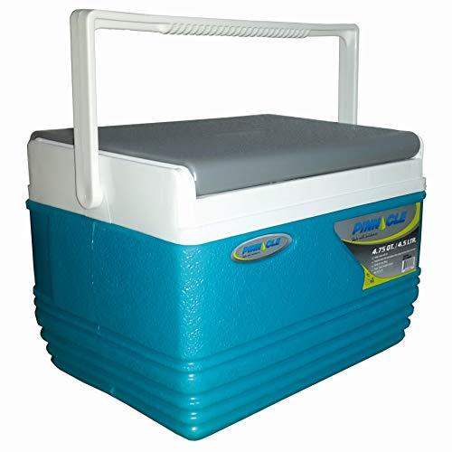 Pinnacle Nevera portátil 4,5 litros Mini, Camping-Deportes, Azul Celeste, 21x20x16 cm