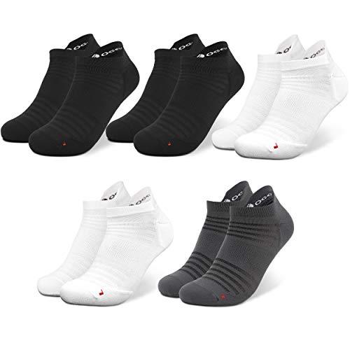 Occulto 3   5 Paar Sportsocken für Damen und Herren   Laufsocken für Herren und Damen   Wandersocken für Damen und Herren   Kurze Sport Sneaker Socken für Damen und Herren für Fitness, Golfen UVM