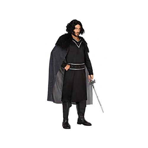 Atosa-54555 Disfraz Vikingo, Color Negro, XL (54555