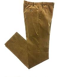 Pantalone Velluto, Duca Visconti di Modrone Elasticizzato (10 Colori) dalla 48 alla 60 Piu Misure CALIBRATE! (55-57-59-61-63-65)