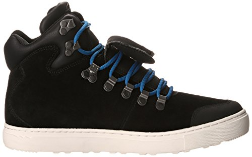Leather Style Top Mid Sneaker Merrell Boots Ankle Valley Suede Hi Mens Black 08AqIqWT