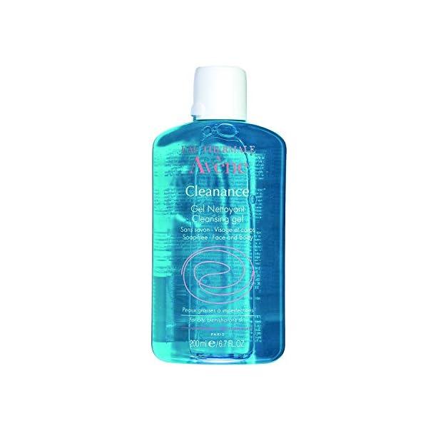 Avène Cleanance Gel Nettoyant Visage Et Corps Crema – 200 ml