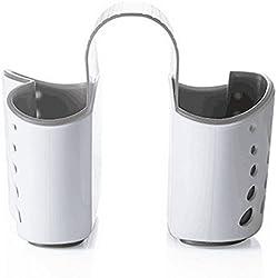 WJkuku - Porte-éponge d'évier de cuisine - Panier suspendu de type égouttoir - Panier double usage - Égouttoir créatif - Fabriqué en Chine
