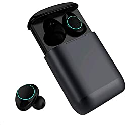 Auriculares Bluetooth Kingsky Auriculares Verdaderamente Inalámbricos Mini Auriculares In-Ear Auriculares sin cables con Control Táctil y Manos Libres (Twilight)