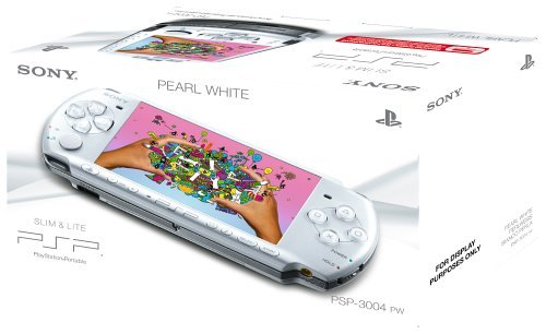 Sony PSP 3000 Series Slim and Lite Handheld Console (White) (Certified Refurbished) (Psp Slim)