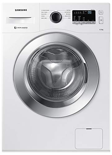 Samsung 6.5 kg Fully-Automatic Front Loading Washing Machine (WW65M206L0W/TL, White)