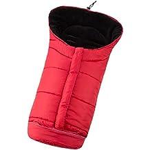 TecTake Saco de invierno dormir térmico para carrito silla de bebé universal abrigo polar - disponible en diferentes colores - (Rojo | No. 401000)