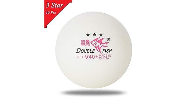 Tischtennis Bälle Ping Pong Haltbar 3 Stars Professionell Set Wettbewerb 10pcs