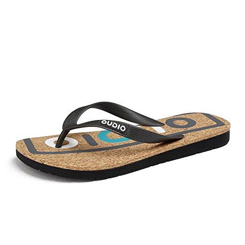Xing Lin Sandales Pour Hommes De Nouveaux Hommes Chaussures De Plage Summer Mode Pincée De Tongs Chaussons Mer gray