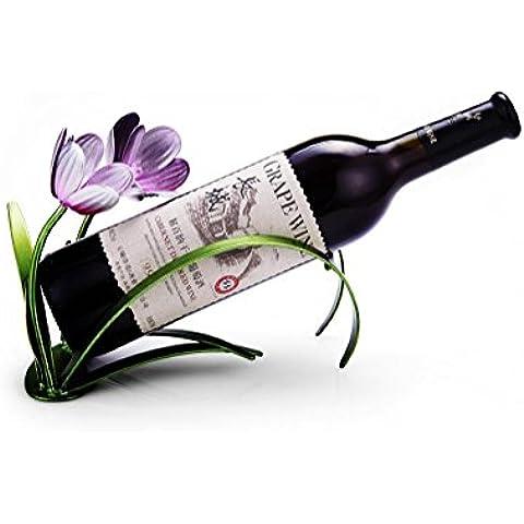 H&M Rack de orquídea vino creativo