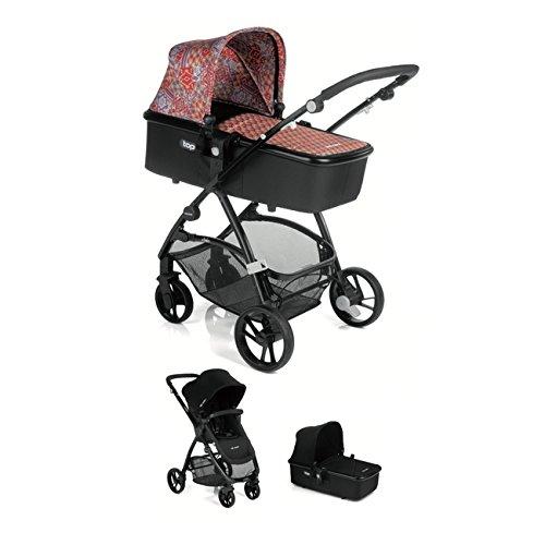 Be Cool Slide + Cuco Top - Silla de paseo, diseño Ethnic 636