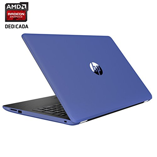 "HP 15-BW018NS - Portátil de 15.6"" (AMD A12-9720P 2.7 GHz, disco duro de 1000 GB, RAM de 8 GB, Windows 10 Home) color azul marino"