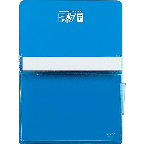 Kokuyo White Board Magnet Pocket Approximately 165 Sheets B5 Paper Blue Mac-501 NB Japan